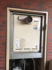 京都市上京区給湯器施工事例①Before