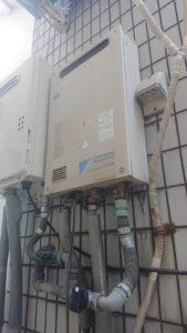 大津市ガス給湯器施工事例⑤Before