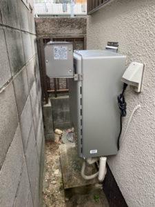湖南市給湯器施工事例①After
