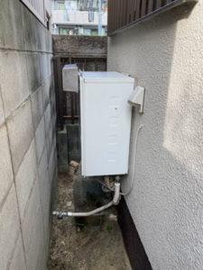 湖南市給湯器施工事例①Before