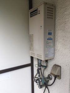 神戸市給湯器施工事例①Before